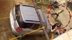 नोएडा में दबंग ने गाड़ी से होमगार्ड को कुचलने की कोशिश, वीडियो हुआ वायरल