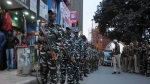 केंद्र सरकार का फैसला, जम्मू-कश्मीर से असम के लिए रवाना हुए अर्धसैनिक बल