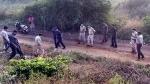 हैदराबाद: महिला डॉक्टर से जहां हुई हैवानियत, गांव वालों ने वह दीवार गिरा दी