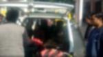 बिजनौरः परिवार के साथ जा रहा था युवक, ट्रक ने मारी टक्कर तो पिता-पुत्री की मौत