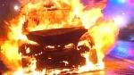 पंजाबः गाड़ी में हीटर चालू रहने के कारण आग का गोला बनी स्कॉर्पियो, जिंदा जल गया युवक