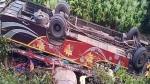 ओडिशाः ब्रेक फेल होने से खाई में पलटी बस, 8 लोगों की मौत