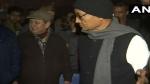 शाहीन बाग पहुंचे कांग्रेस नेता दिग्विजय सिंह, कुछ भी बोलने से किया परहेज