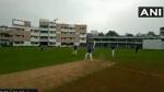 VIDEO: सीजेआई शरद बेबडे ने दिखाए बल्लेबाजी में हाथ, अपनी टीम के लिए बनाए सबसे ज्यादा रन