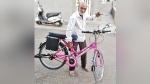 ट्रैफिक जुर्माने से बचने के लिए बुजुर्ग ने खुद ही 1 हफ्ते में बनाई इलेक्ट्रिक साइकिल, 35 KM दौड़ती है
