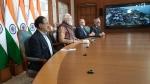 वीडियो कॉन्फ्रेंसिंग के जरिए पीएम मोदी ने नेपाली पीएम के साथ किया चेक पोस्ट का उद्घाटन