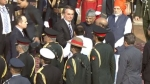 गणतंत्र दिवस: पीएम मोदी ने की राष्ट्रपति रामनाथ कोविंद की अगवानी, तस्वीरों में देखें