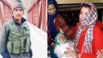 कुपवाड़ा में शहीद हुए जवान रंजीत को मां-बहन ने दिया कंधा, तीन माह की बेटी ने दी मुखाग्नि