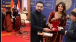 Champion of Change Award: शिल्पा शेट्टी ने प्रणब मुखर्जी  के छूए पैर, तस्वीर हुई Viral