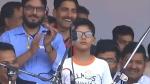 कन्हैया कुमार की रैली में छोटे बच्चे ने लगाए आजादी के नारे, कहा-ताजमहल-लालकिला न होता तो गोबर दिखाते, Video वायरल