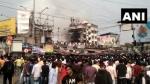 कोलकाता: राजा बाजार में एक इमारत में लगी भीषण आग, मौके पर दमकल की 12 गाड़ियां मौजूद