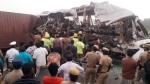 तमिलनाडु: अविनाशी में बस-लॉरी की टक्कर, 20 लोगों की मौत, दिल दहला देंगी हादसे की ये भयानक तस्वीरें