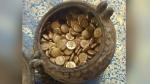 मंदिर में खुदाई के दौरान मिला सोने के सिक्कों का खजाना, 1800 साल पुराना है ये शिव मंदिर