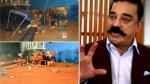 कमल हासन की फिल्म 'इंडियन 2' के सेट पर बड़ा हादसा, 3 की मौत, 10 घायल