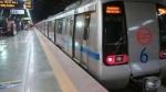दिल्ली मेट्रो स्टेशन के सभी गेट खोले गए, सामान्य सेवाएं बहाल
