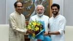 दिल्लीः मुख्यमंत्री उद्धव ठाकरे ने पीएम मोदी से की मुलाकात, साथ में आदित्य भी रहे मौजूद