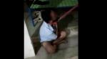 प्रेमी के गले में बांधा कुत्ते का पट्टा, नहीं भौंकने पर बेरहमी से पीटा