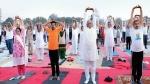 गुजरात: 5 हजार लोगों ने 3 मिनट 30 सेकंड तक ताड़ासन किया, वर्ल्ड बुक ऑफ रिकॉर्ड्स में दर्ज हुए