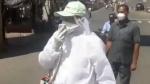 कोरोना वायरस: ममता बनर्जी के मंत्री ने घूम-घूमकर की लोगों से घरों मे रहने की अपील, देखिए वीडियो