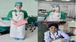 कोरोना रोगियों की सेवा के लिए अभिनेत्री से नर्स बन गई यह एक्ट्रेस, संजय मिश्रा के साथ दिख चुकीं हैं!