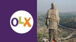 OLX पर 30 हजार करोड़ में बिक रहा है 'स्टैच्यू ऑफ यूनिटी', कोरोना के लिए चाहिए पैसा, FIR दर्ज