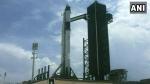SpaceX की सफल उड़ान, 2 अंतरिक्ष यात्रिय़ों को लेकर रवाना हुआ फाल्कन-9