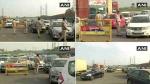 दिल्ली हरियाणा बॉर्डर पर दूसरे दिन भी वाहनों की लंबी कतार, बिना पास के नहीं मिल रही एंट्री