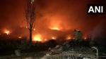 Delhi: तुगलकाबाद स्थित झुग्गी में लगी भीषण आग, कोई हताहत नहीं