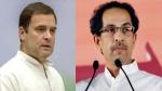 शिवसेना-कांग्रेस के बीच सबकुछ ठीक, राहुल गांधी ने सीएम उद्धव को फोन पर दिया समर्थन का भरोसा