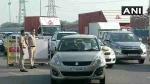 दिल्ली बॉर्डर: गुरुग्राम बॉर्डर पर लगा लंबा जाम, दिल्ली जाने वालों के लिए जरूरी खबर