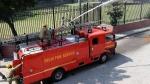 दिल्ली: रोहिणी के शाहबाद डेयरी इलाके में लगी आग, फायर ब्रिगेड काबू पाने में जुटी