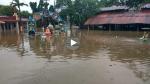 गुजरात: बाढ़ आने से भरा 8 फीट पानी, श्मशान में बहीं चिता की लकड़ियां, गांवों का संपर्क टूटा- VIDEO
