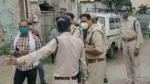 इंदौर: बैंक लुटेरों और पुलिस के बीच हुई मुठभेड़, दो लुटेरों को लगी गोली