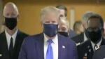 पहली बार अमेरिका के राष्ट्रपति डोनाल्ड ट्रंप ने पहना मास्क, US में कोरोना से मरने वालों की संख्या 134000 के पार