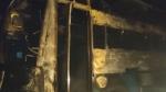कर्नाटक में यात्री बस में लगी आग, बच्चे समेत 5 लोगों की मौत, 27 घायल
