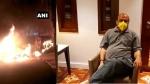 बेंगलुरु: भड़काऊ पोस्ट के चलते कांग्रेस विधायक के घर तोड़फोड, आगजनी