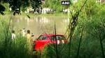 गाजियाबाद: गंग नहर में गिरी बेकाबू कार, एक को बचाया, तीन लोगों की तलाश में जुटी NDFR की टीम