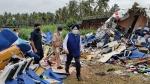 विमान क्रेश साइट पर पहुंचे एविशन मिनिस्टर हरदीप पुरी, पीड़ितों के लिए मुआवजे का ऐलान
