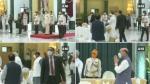 PHOTO: राष्ट्रपति भवन में एट होम सेरेमनी, पीएम मोदी समेत पहुंचे ये दिग्गज नेता