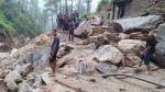 रुद्रप्रयाग के सिरवाड़ी गांव में बादल फटने से मची तबाही, घरों में घुसा मलबा, हुआ भारी नुकसान