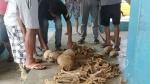 मिजोरम: भूस्खलन के मलबे में मिले 12 इंसानी खोपड़ी, हड्डियां और गहने