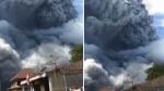 VIDEO: इंडोनेशिया में भड़का सिनाबुंग ज्वालामुखी, कई किलोमीटर की ऊंचाई तक उठी राख
