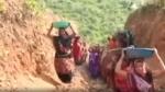 250 महिलाओं ने पहाड़ी काटकर बना डाली नहर, 18 माह में गांव के तालाब में पहुंचा पानी