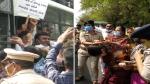 कृषि विधेयकों का गुजरात में विरोध शुरू, प्रदर्शन करते कांग्रेसी नेताओं को पुलिस पकड़कर थाने ले गई