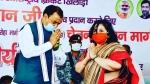 नौगावां सादात: चेतन चौहान के नाम पर सड़क का नामाकरण, डिप्टी सीएम ने कहा- उपचुनाव में जनता विपक्षियों को सबक सिखाएगी