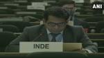 मानवाधिकार परिषद बैठक में भारत ने पाक को घेरा, कहा- आपके झूठ से नहीं बदलेंगे तथ्य