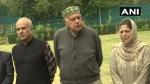 जम्मू-कश्मीर: 'गुपकार घोषणा' के अध्यक्ष होंगे फारूक अब्दुल्ला, महबूबा मुफ्ती बनीं उपाध्यक्ष