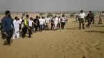 फ़िट इंडिया : जैसलमेर में भारत-पाक बॉर्डर पर वॉकथन 2020 का आगाज, एक्टर विद्युत जमवाल भी पहुंचे