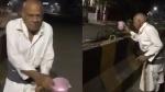 VIDEO:गुड़गांव के 91 साल के बाबा पीठ दर्द के बावजूद, हर सुबह सड़क के किनारे लगे पौधों को देते हैं पानी