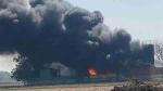 मेरठ: केमिकल फैक्ट्री में भयंकर आग लगने से मची अफरातफरी, पुलिस ने रोक दिया यातायात